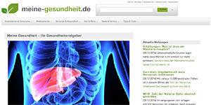 Gesundheitskommunikation Ratgeber Gesundheit: meine-gesundheit.de