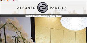 Zahnarzt-Homepage Frankfurt Alfonso Padilla