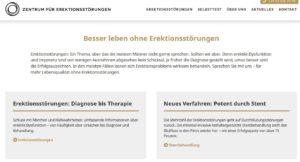 Praxis Homepage Zentrum für Erketionsstörungen Dr. Diehm