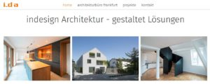 in_design architektur Text SEO Konzeption worteschaffenwerte